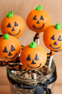 Halloween Cake Pops By Laureen King | Art and the Kitchen
