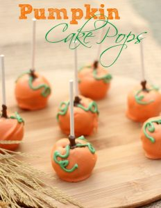 pumpkin cake pops the best of cake pops 187 follow my arrow 6849