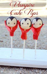 Vampire Cake Pops By Cheryl | Moms & Munckins