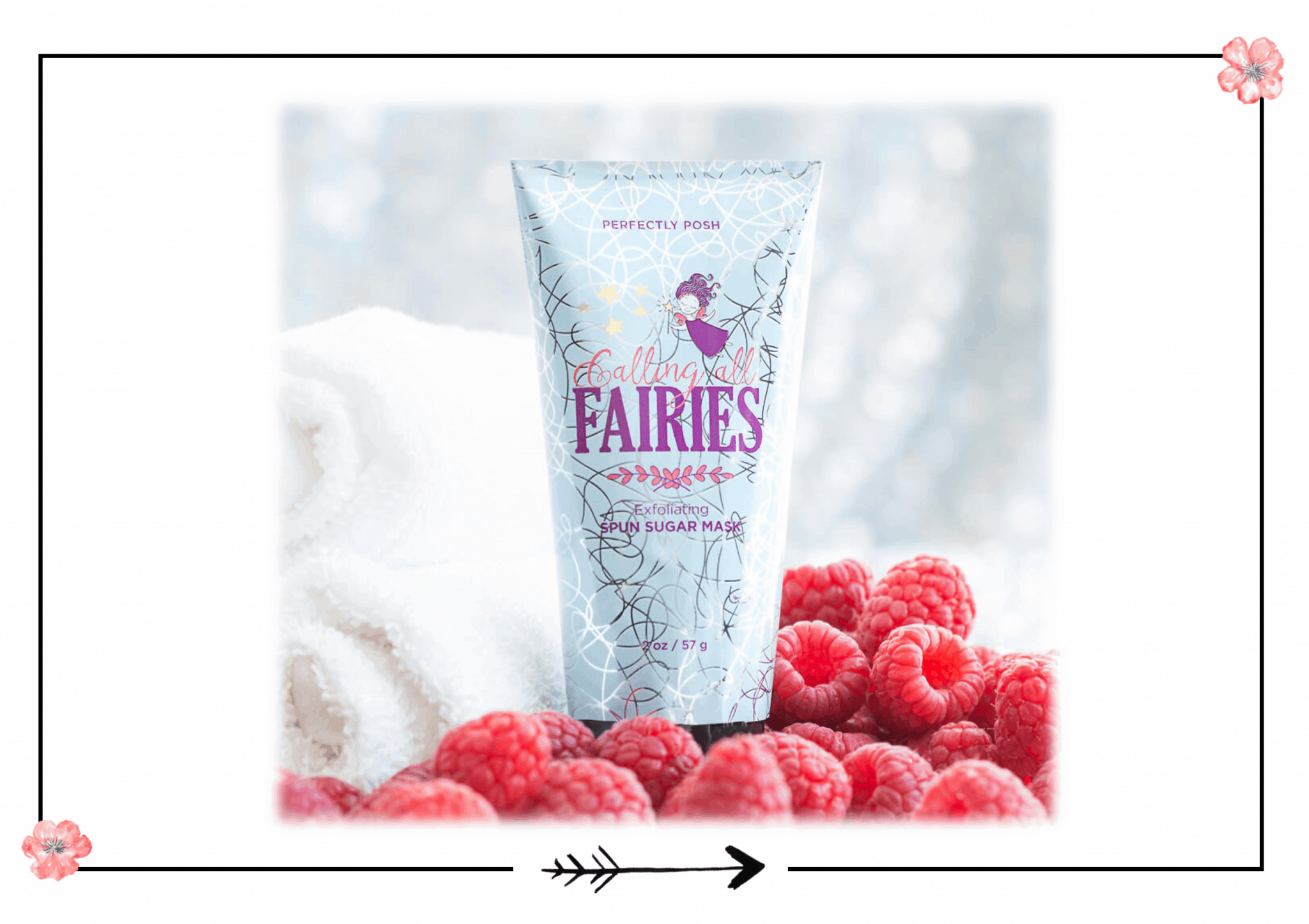 Perfectly Posh Calling All Fairies Exfoliating Mask