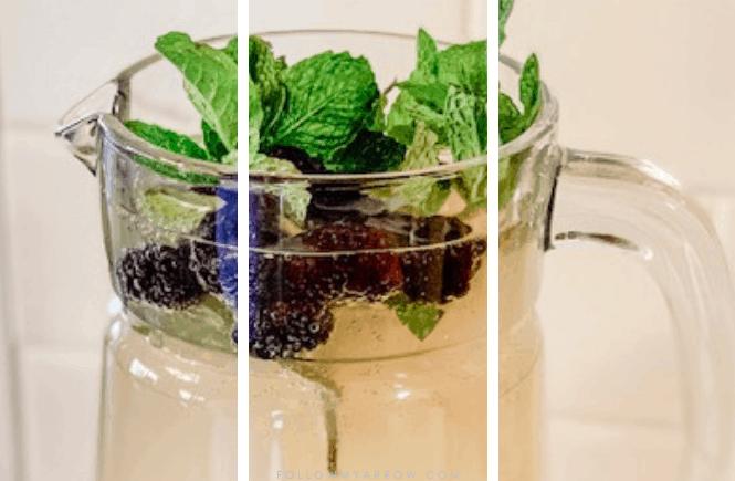 Lemonade Prosecco Punch - A Summer Favorite
