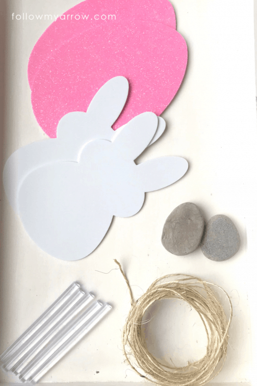 How to create peeps style hanging ornaments from foam shapes