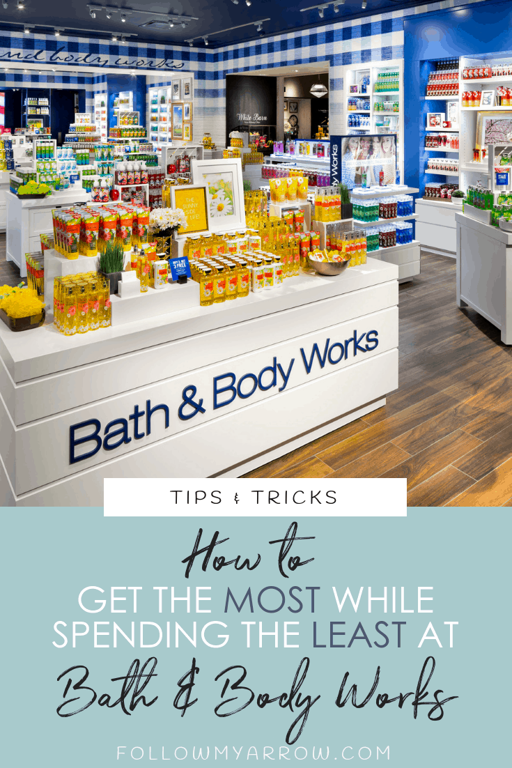 spending less at bath body