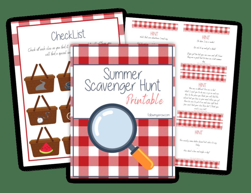Summer treasure hunt-FI